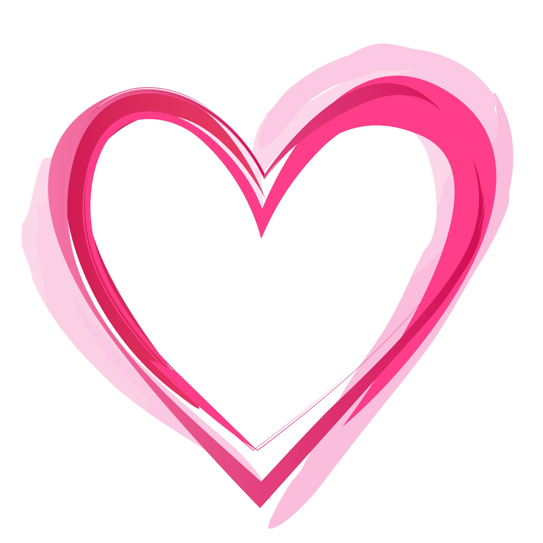 Pink Heart PNG Pic SVG Clip arts