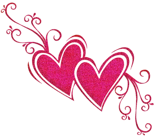 Pink Heart Transparent PNG SVG Clip arts