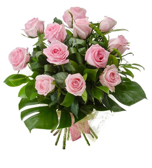 Pink Roses Flowers Bouquet PNG Photo SVG Clip arts