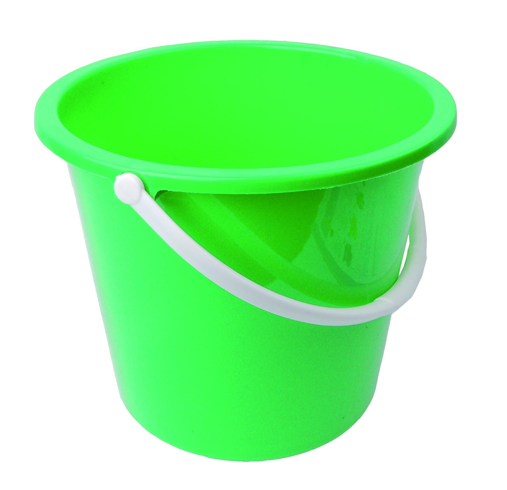 Plastic Bucket Transparent Background SVG Clip arts