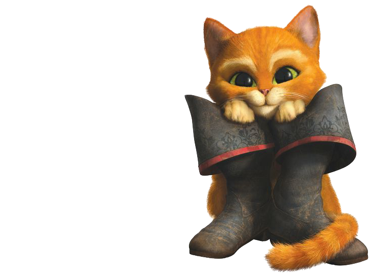 Puss In Boots PNG File SVG Clip arts