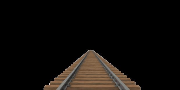 Railroad Tracks PNG Transparent Image SVG Clip arts