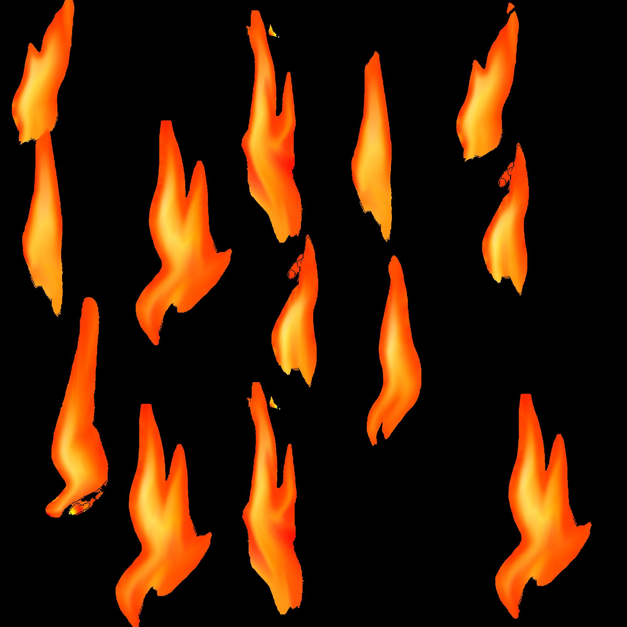 Real Fire SVG Clip arts