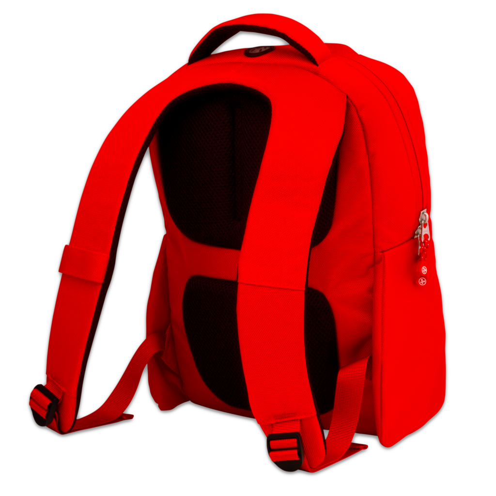 Red Backpack PNG SVG Clip arts