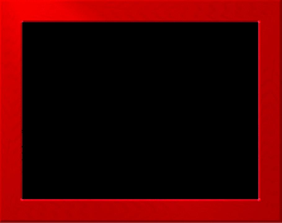 Red Border Frame PNG Free Download SVG Clip arts