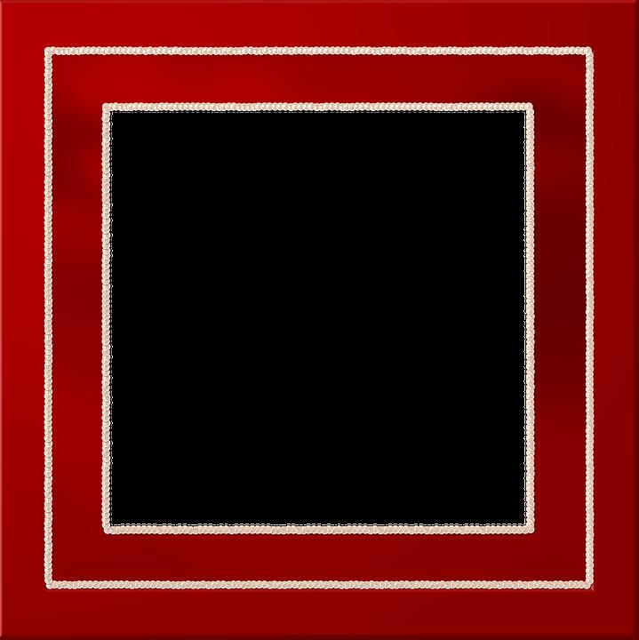 Red Border Frame PNG Picture SVG Clip arts