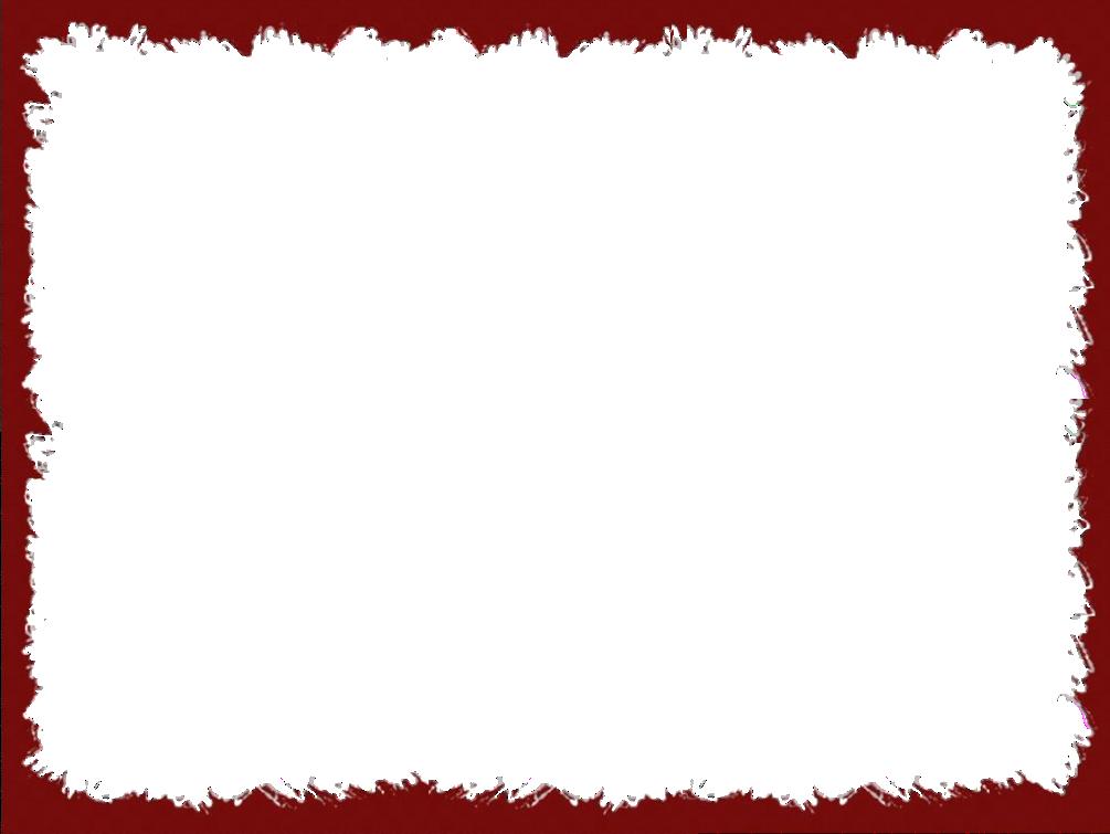 Red Border Frame PNG Transparent Image SVG Clip arts