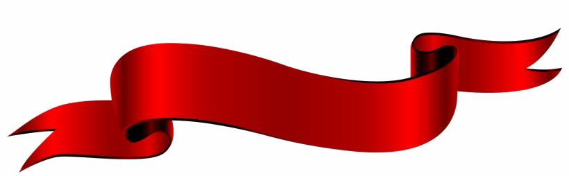 Red Ribbon Banner PNG HD PNG, SVG Clip art for Web ...