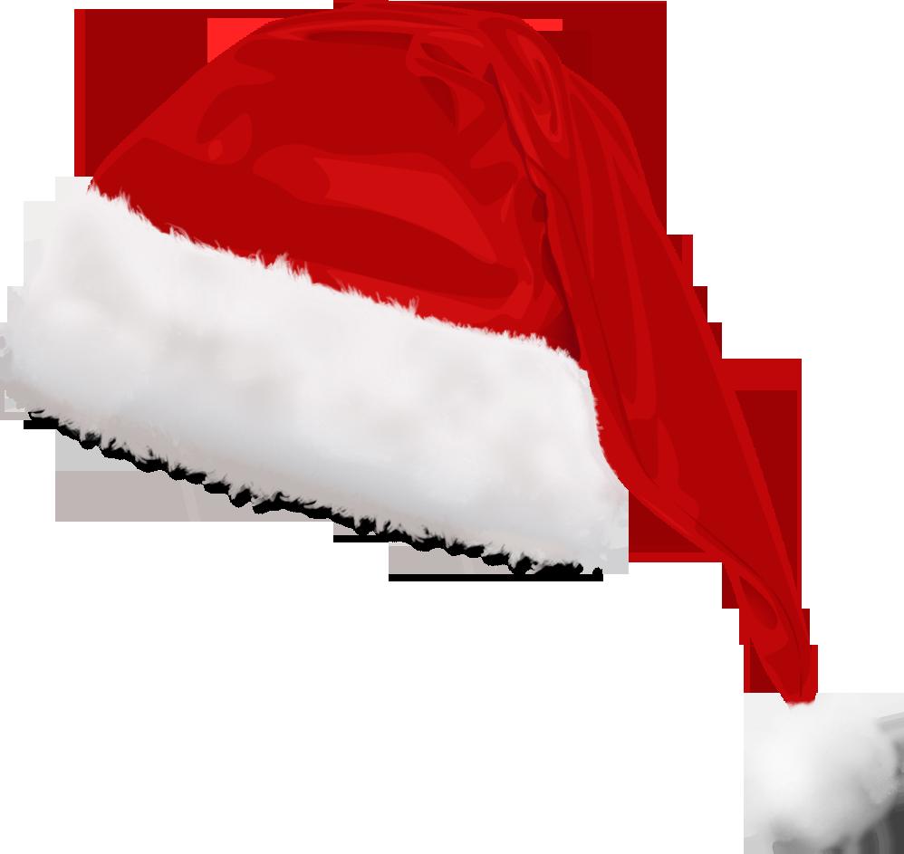 Santa Claus Hat PNG Transparent SVG Clip arts
