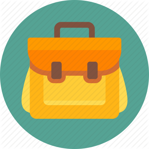 School Bag Transparent Background SVG Clip arts