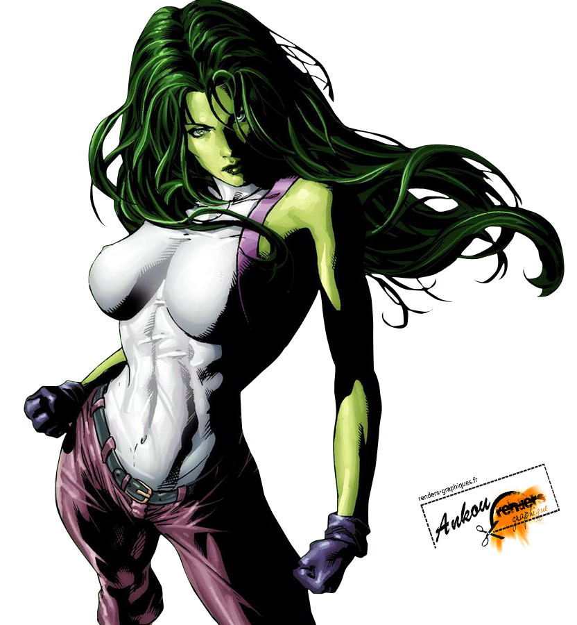 She Hulk PNG Photo SVG Clip arts