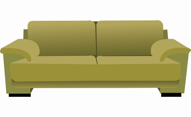 Sleeper Sofa Transparent PNG SVG Clip arts