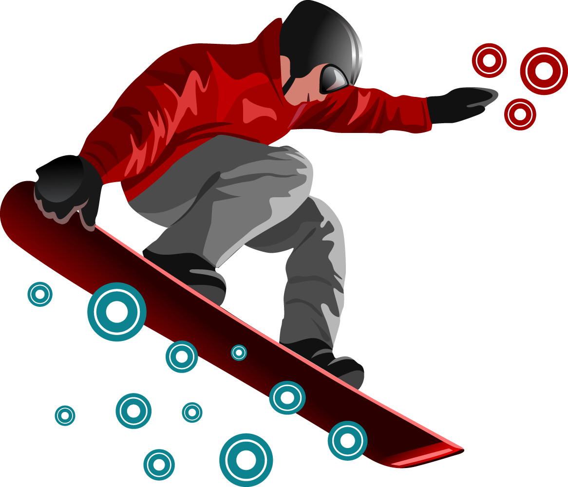 Snowboarding Jumping PNG Transparent SVG Clip arts