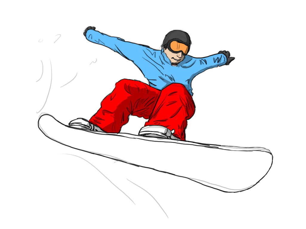 Snowboarding Jumping Transparent PNG SVG Clip arts