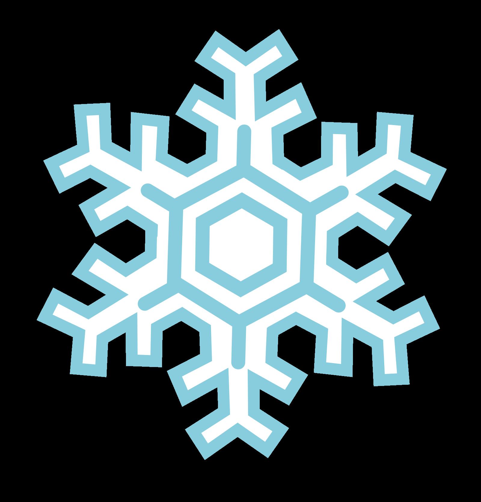 Snowflakes Transparent Background SVG Clip arts