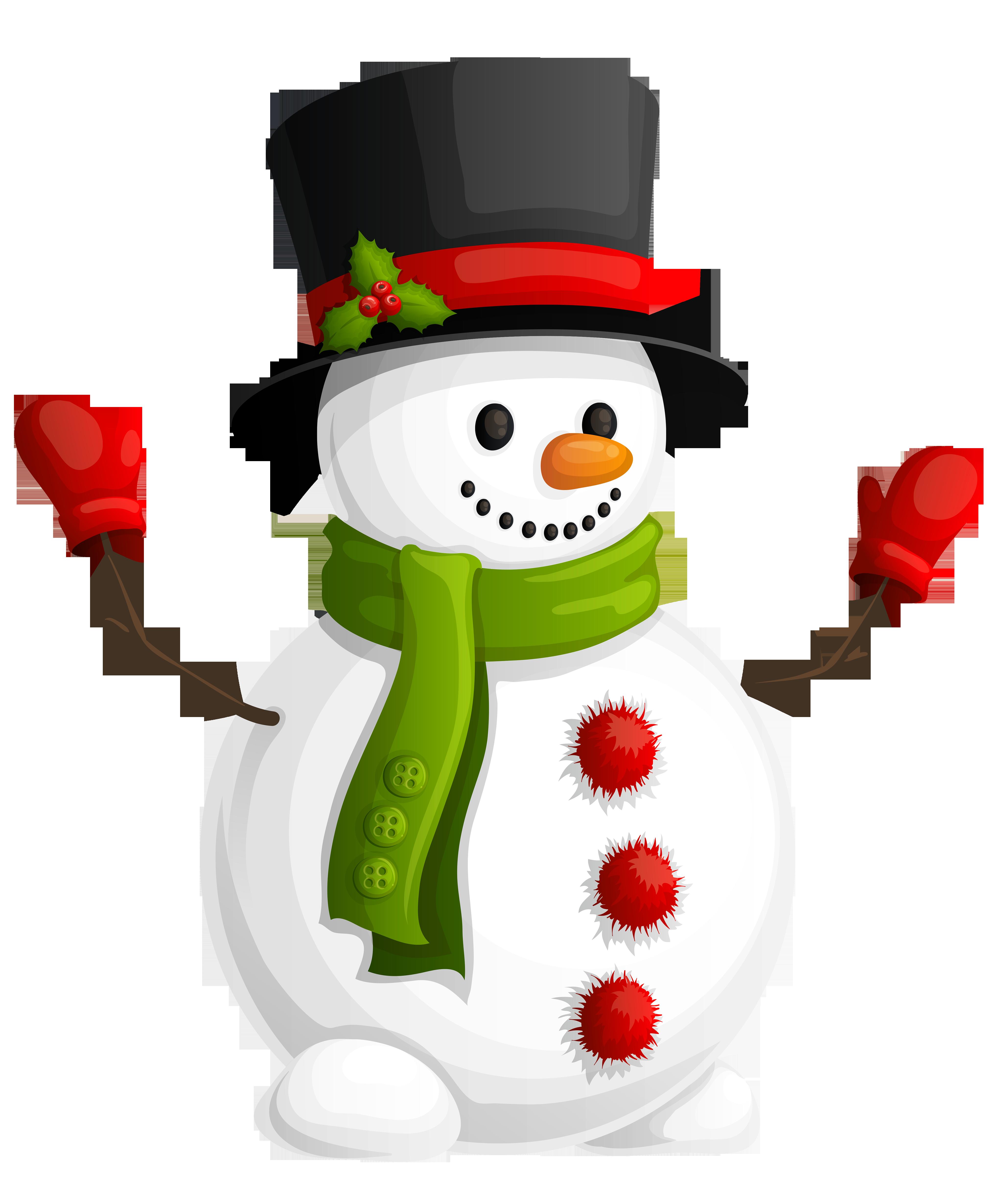Snowman PNG Transparent Image SVG Clip arts