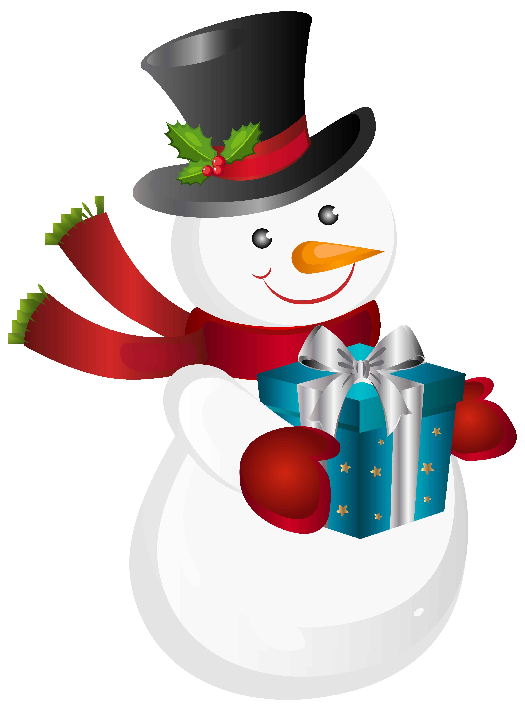 Snowman Transparent Background SVG Clip arts