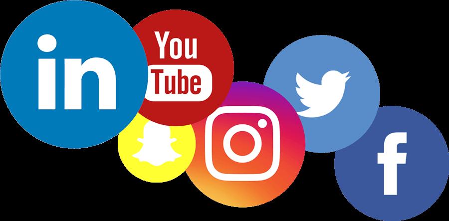 Social Media PNG Photos PNG, SVG Clip art for Web ...
