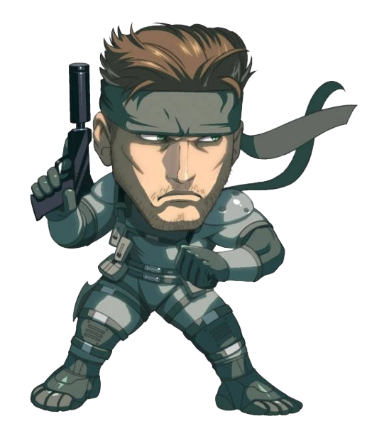 Solid Snake PNG Photos SVG Clip arts