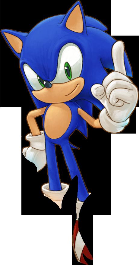 Sonic The Hedgehog Transparent Background SVG Clip arts