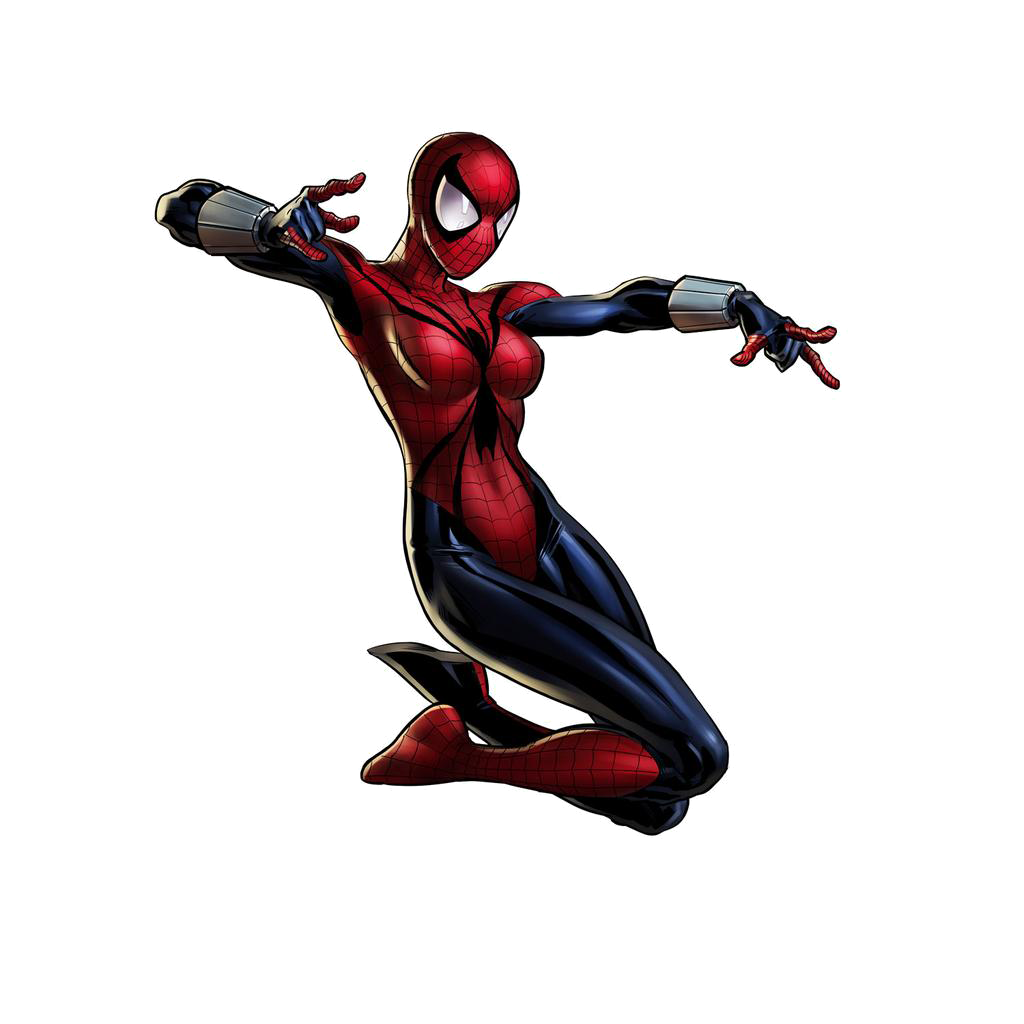 Spider Woman PNG File SVG Clip arts