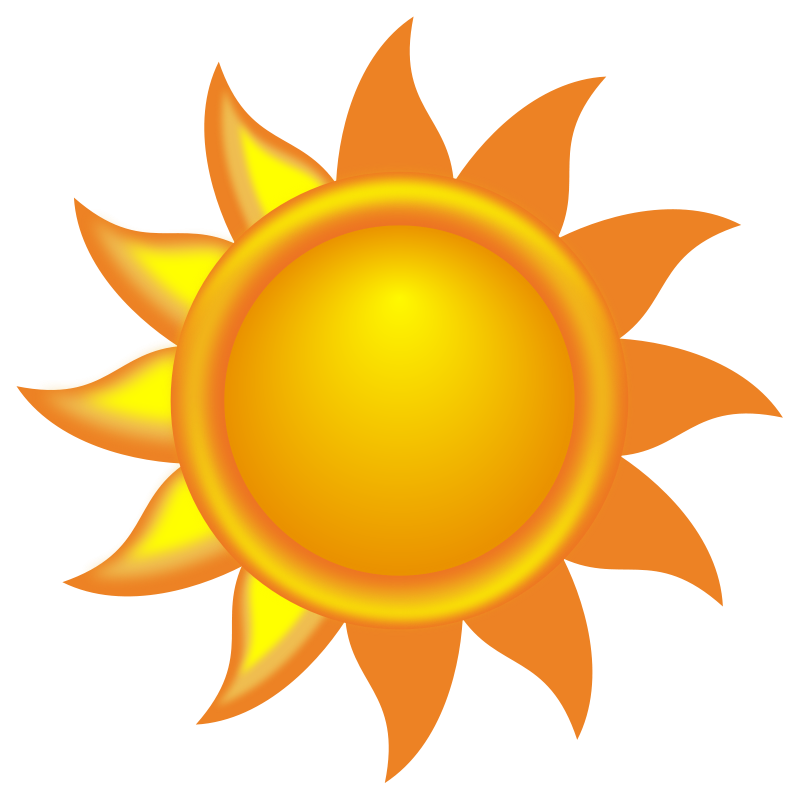 Sun PNG Free Download SVG Clip arts