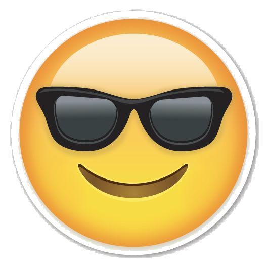 Sunglasses Emoji PNG Photos PNG file