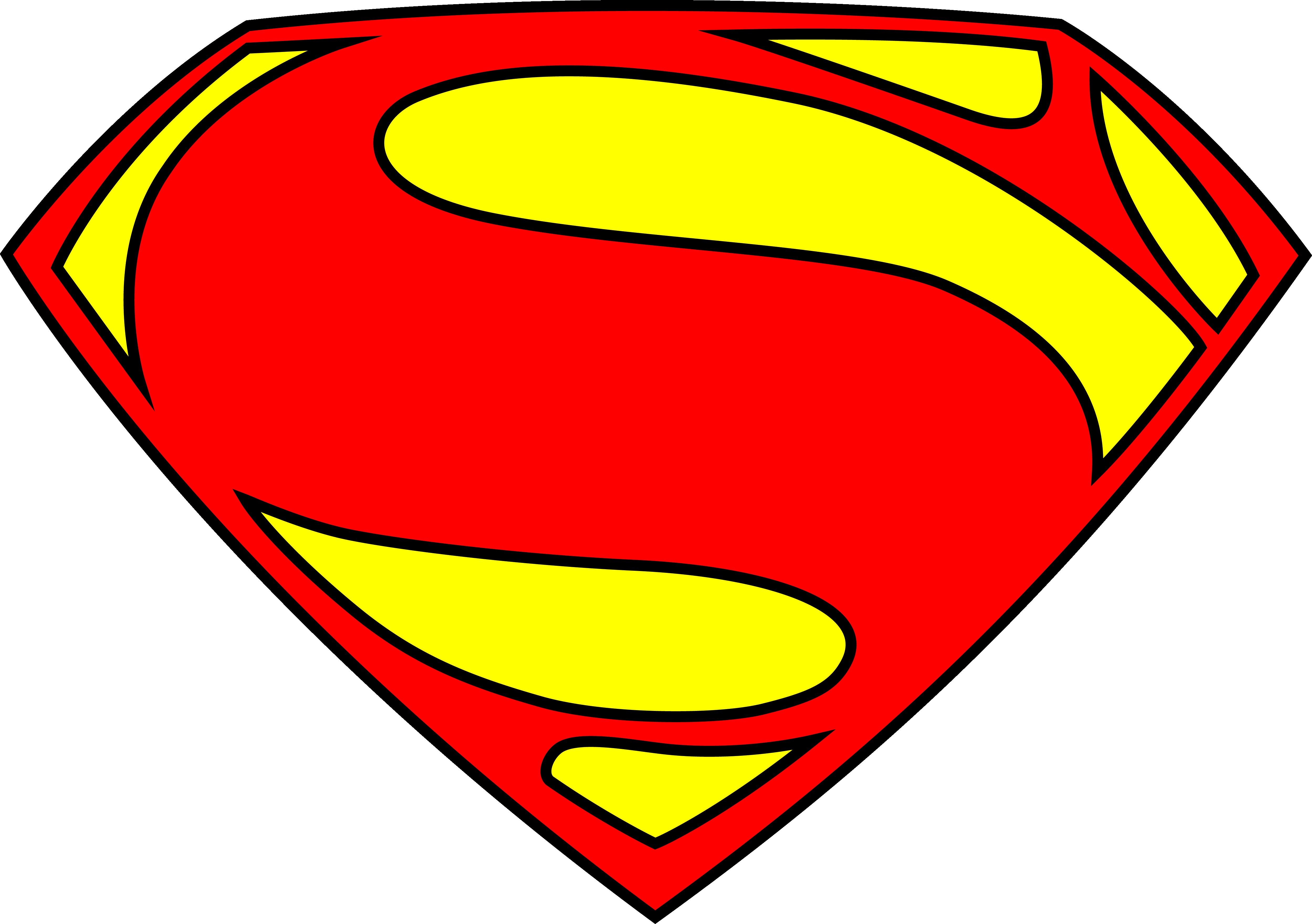 Superman Logo PNG Transparent Image SVG Clip arts