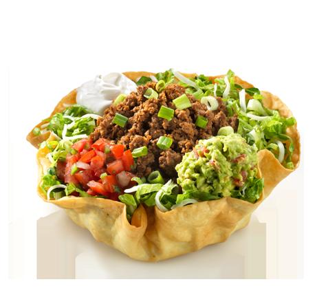Taco Salad Tortilla Bowl PNG SVG Clip arts