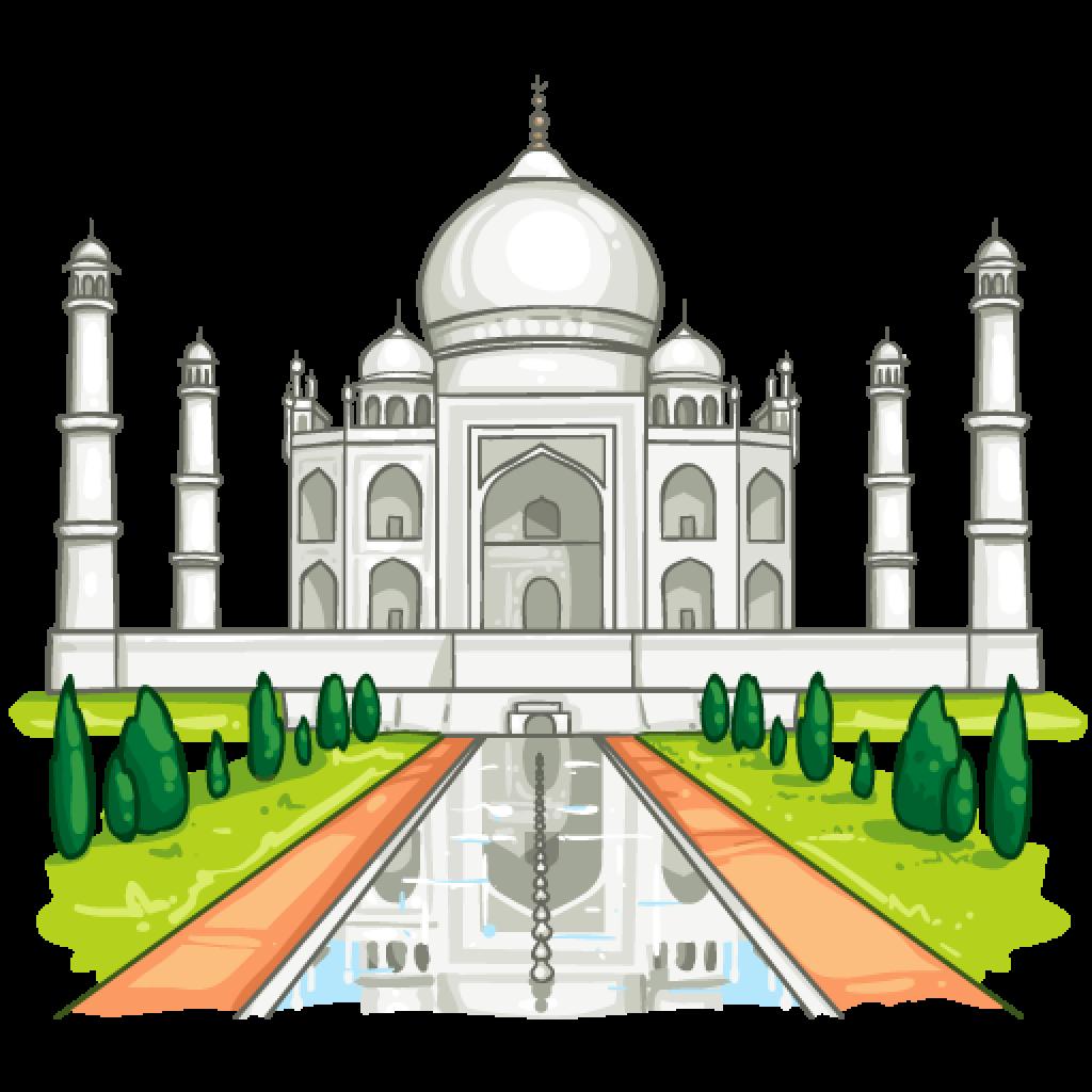 Taj Mahal PNG Photos SVG Clip arts