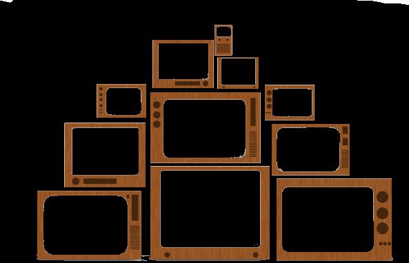 Television PNG Transparent Picture SVG Clip arts