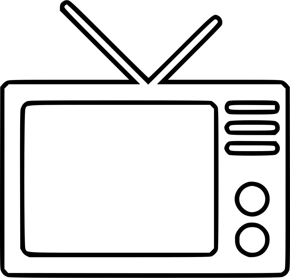 Television Transparent Background SVG Clip arts
