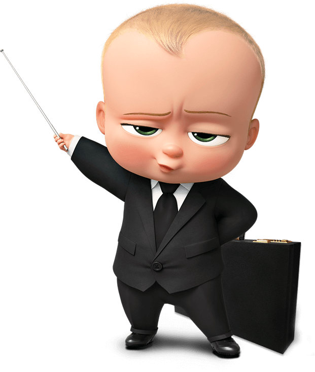 The Boss Baby Transparent PNG SVG Clip arts