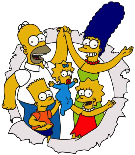 The Simpsons PNG Image SVG Clip arts