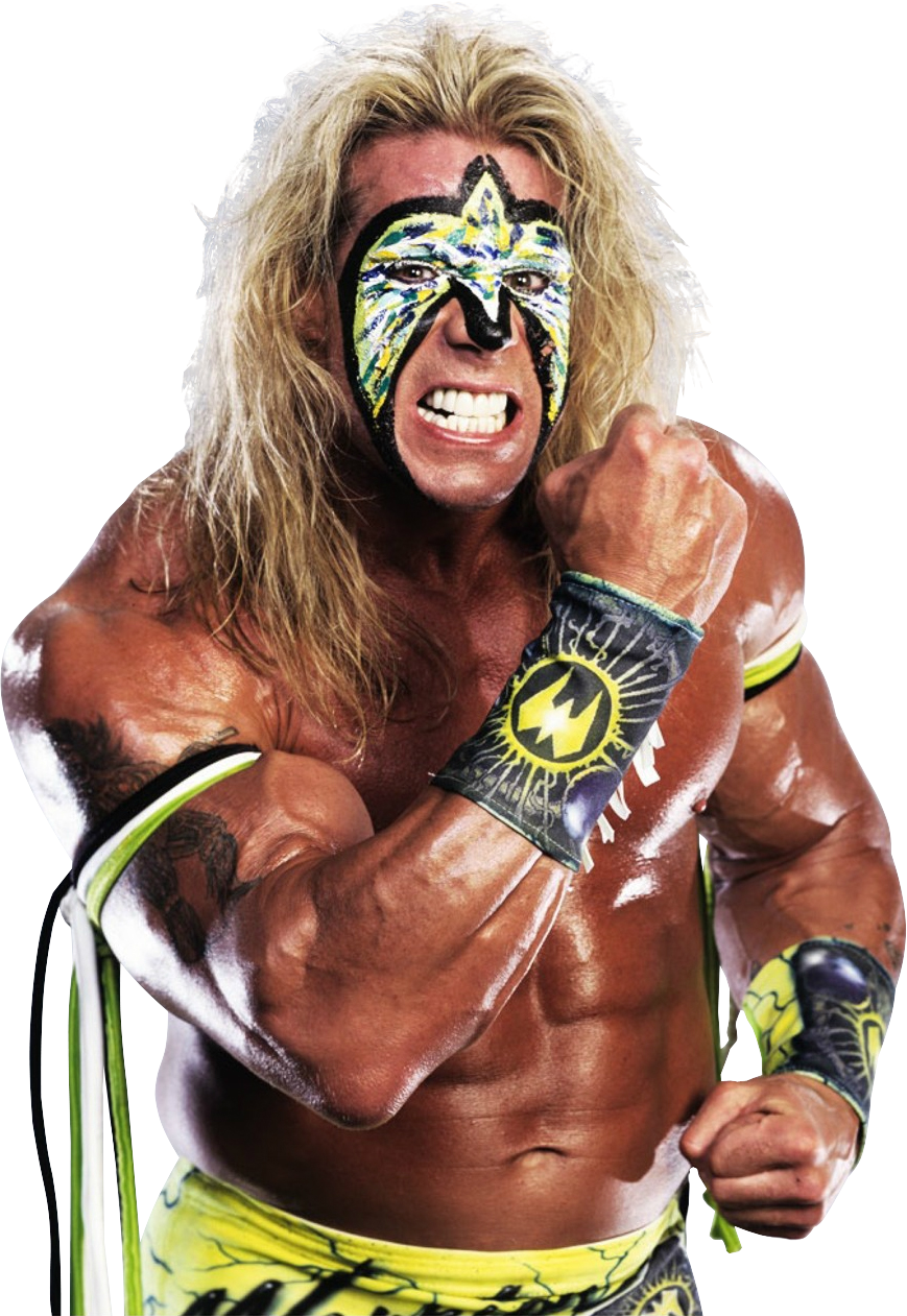 The Ultimate Warrior PNG Image SVG Clip arts