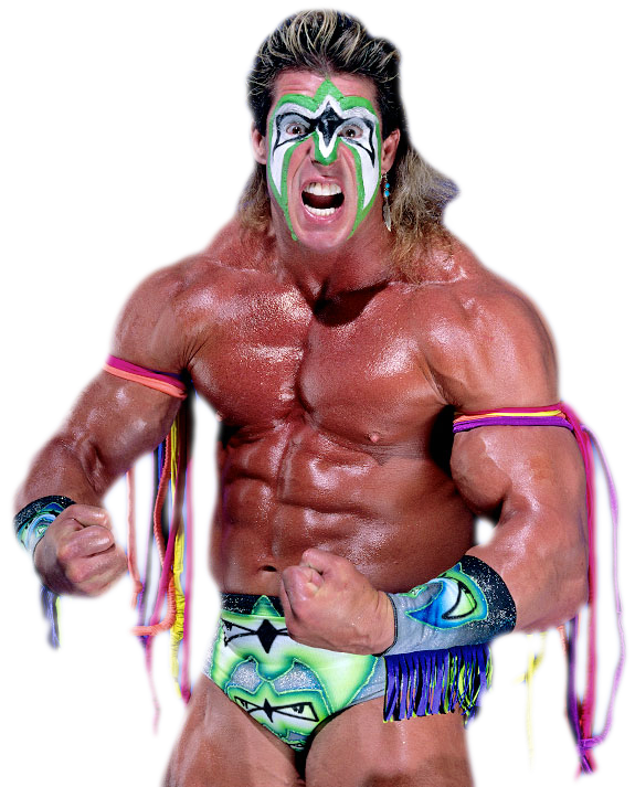 The Ultimate Warrior Transparent Background SVG Clip arts