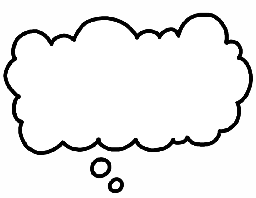 Thought Bubble PNG Image PNG, SVG Clip art for Web ...