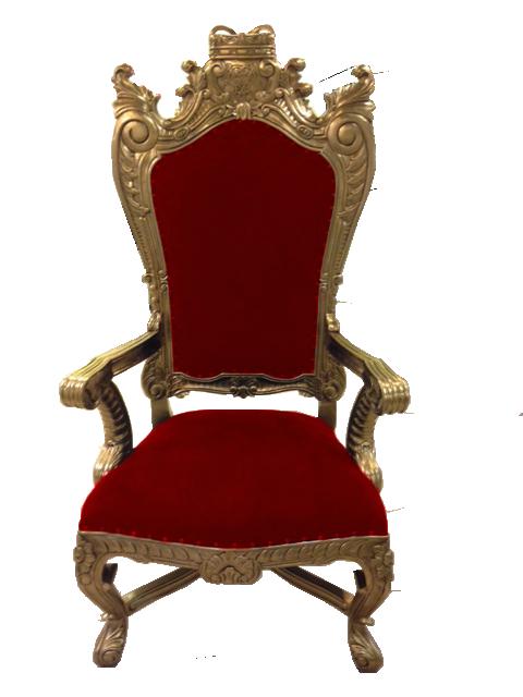 Throne Transparent Background SVG Clip arts