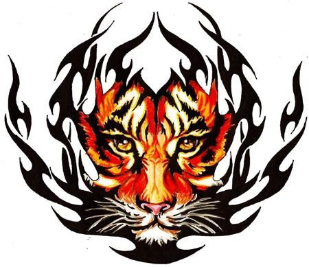 Tiger Tattoos PNG Transparent Image SVG Clip arts