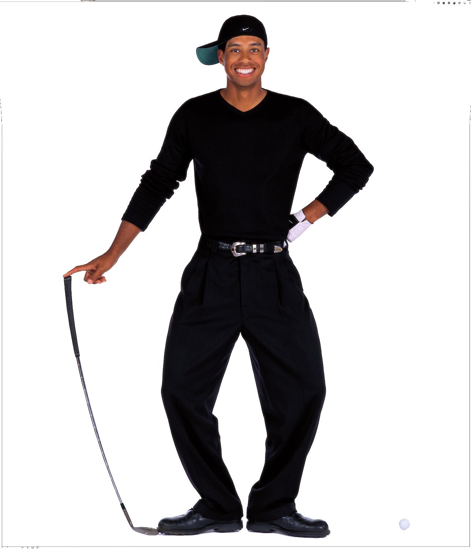 Tiger Woods PNG Transparent Image SVG Clip arts