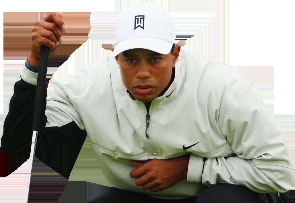 Tiger Woods Transparent Background SVG Clip arts