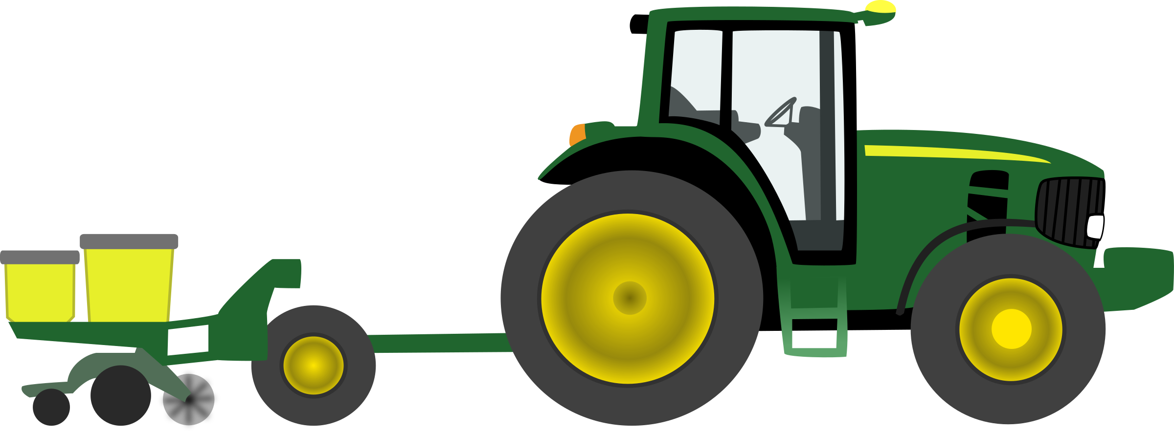 Tractor PNG Transparent Image SVG Clip arts