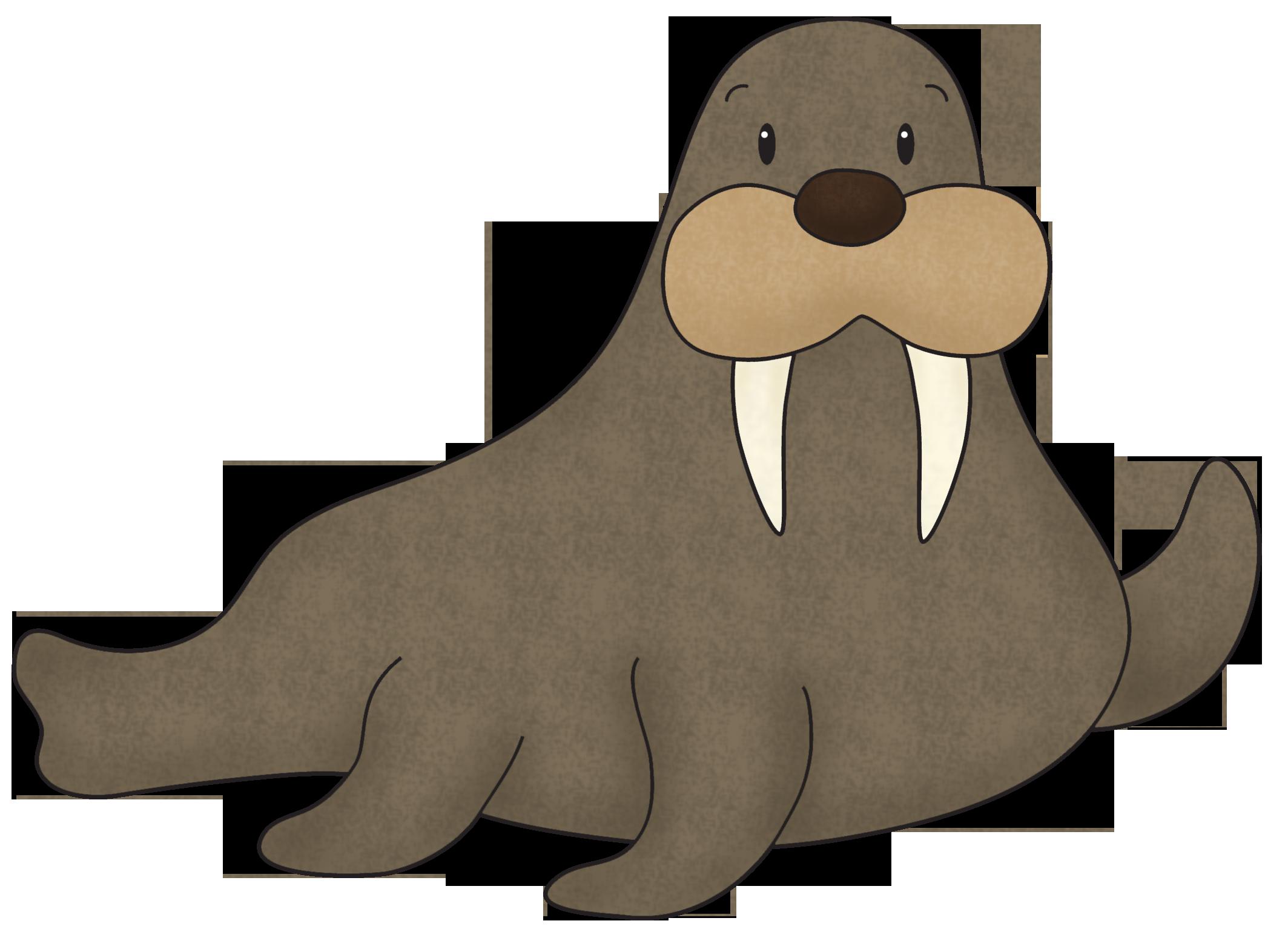 Walrus PNG Free Download SVG Clip arts