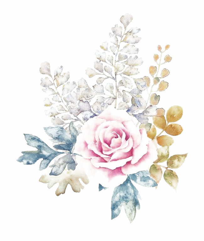 Watercolor Flowers PNG Download Image SVG Clip arts
