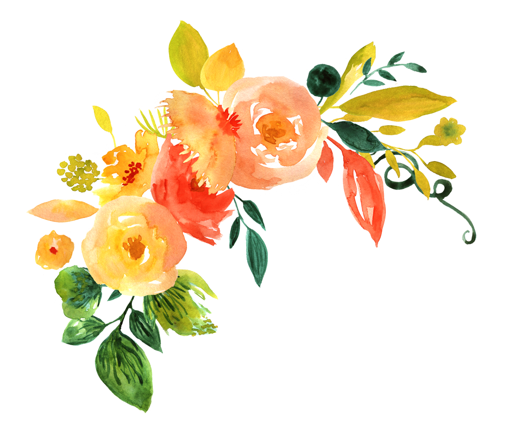 Watercolor Flowers PNG File Download Free SVG Clip arts