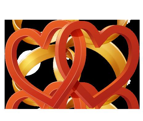 Wedding Heart PNG File SVG Clip arts