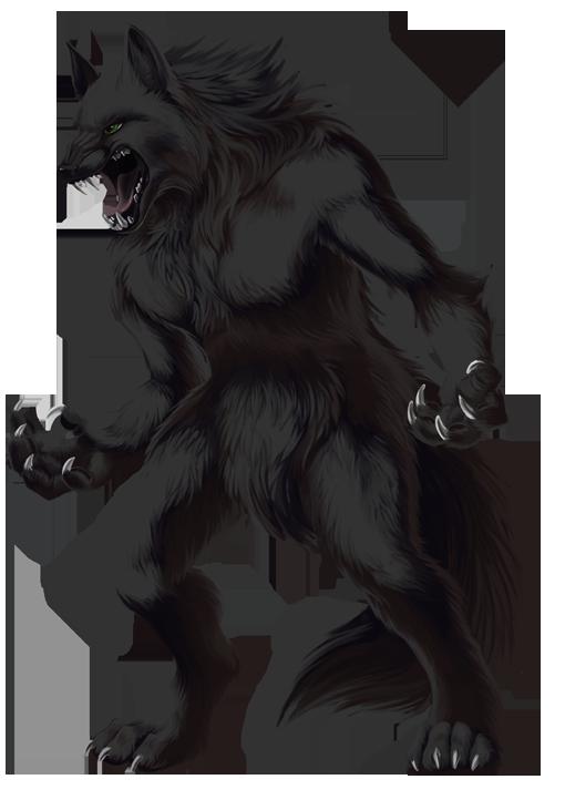 Werewolf PNG Transparent Image SVG Clip arts
