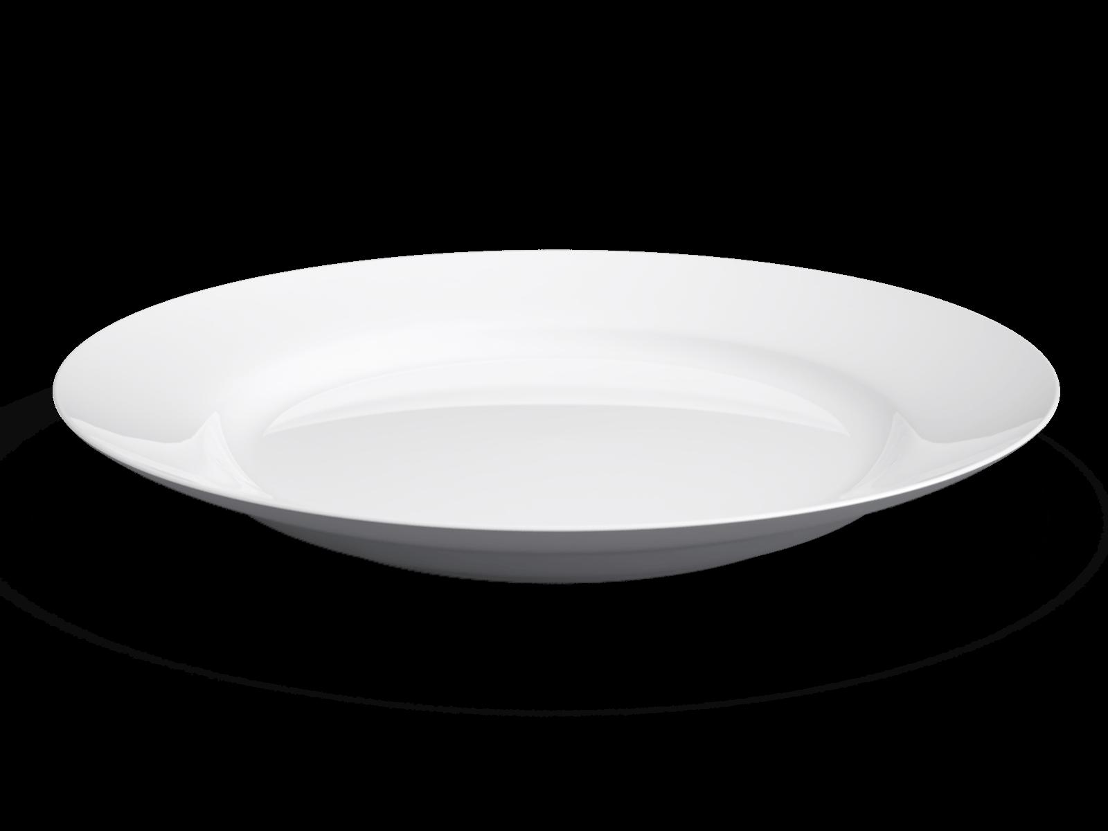 White Plate Transparent PNG SVG Clip arts