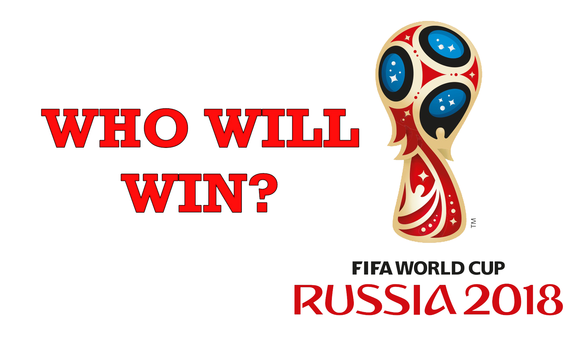 Who Will Win FIFA World Cup 2018 Trophy PNG SVG Clip arts