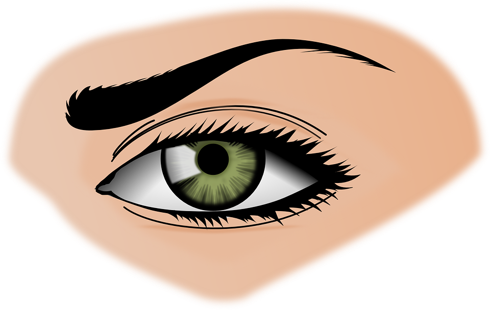 Woman Eyes Transparent Background SVG Clip arts
